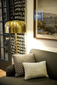 Nate Berkus' home in the west village (Matchbook Feb '13; photograph by Carol | http://homedecorphotos.blogspot.com