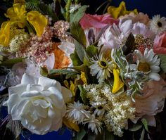 Wild Summer Wedding bouquet by Mountain Daisy. We cover Scotland and N England and post dry florals worldwide. Scottish Flowers, Summer Wedding Bouquets, Second Weddings, Flower Farm, Florals, Scotland, Daisy, Mountain, England