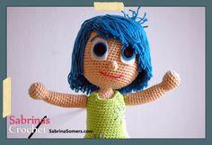 Joy Inside Out Free Amigurumi Crochet Pattern