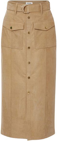 Frame Denim Le Patch Pocket Skirt