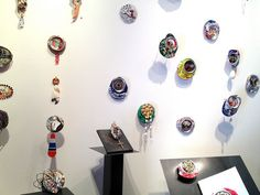 "Some of the amazing pieces Bob Ebendorf made for his ""Keep it in the Can"" exhibition at Equinox Gallery."