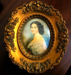 """TWO  CAMEO CREATIONS """"COMTESSE"""" by  WINTERHALTER and """"LADY"""" by DAFFINGER"""
