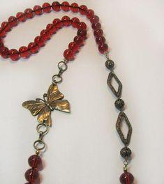DIY Necklace  : DIY Flapper necklace