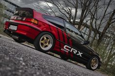 Honda Crx, Honda Civic, Jdm, Project Ideas, Cars, Vehicles, Ideas For Projects, Autos, Car