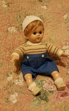 """Madame Alexander Butch Composition Doll 12"""" All Original  