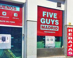Five guys llega a Madrid