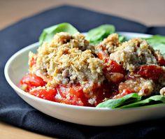Savory Tomato Crisp {the food matters project}