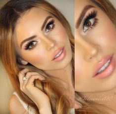 Bridal Makeup Idea: Crystal, Color tones I like on my skin with my eye and hair color!- bride