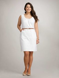 Finding a plus size dress that flatters your figure, feels great & will be worn for years to come is easy at dressbarn. Whether you're browsing for a special occasion or a dress you can wear year round, shop the latest in plus size dresses today! Big Size Fashion, Curvy Fashion, Fashion Looks, Fashion 2015, Plus Size Dresses, Plus Size Outfits, Cute Dresses, Party Dresses, Casual Dresses
