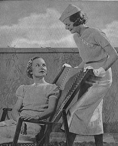 PDF Vintage Crochet Knitting E-pattern Dresses by Dazespast