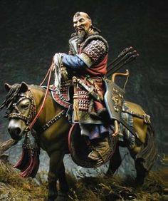 Mongolian warrior horseman