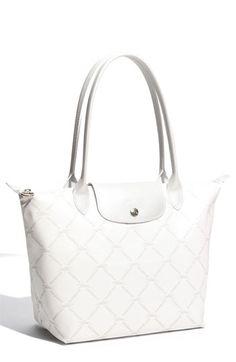 Longchamp \u0026#39;Medium\u0026#39; Metallic Shoulder Bag