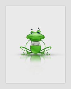 Frog Character #frog #character #animal