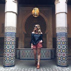 Também fui pro Marrocos, viu @xjuliaferreirax?? @123milhas #disney #epcot #fun