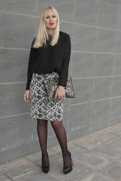 Black for Christmas - Doll Actitud by Sabrina | Fashion Blogger