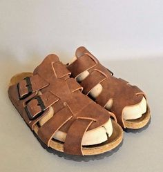 9d03cd986 Tatami Birkenstock Germany W size 6 M 4 EU 37 Leather Strappy Shoes Sandals   Betula