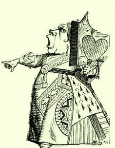 Tenniel's Queen of Hearts