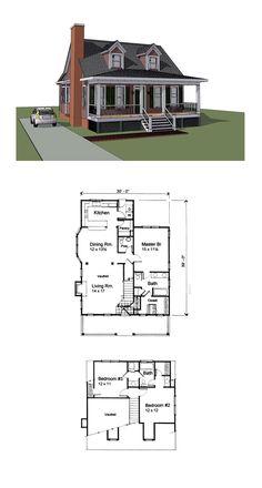 17 best Bungalow House Plans images on Pinterest   Cool house plans ...