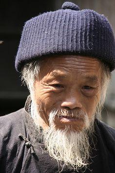 China minority portrait | Anja Disseldorp | Flickr