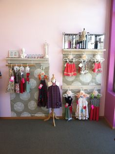 Children's Clothing cutie display