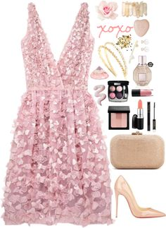 """Untitled #164"" by pinkandgoldsparkles on Polyvore"