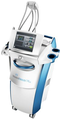 Venus freeze plus is an aesthetic medical device that's used for specialized skin treatments varying from cellulite reduction to laser skin resurfacing.