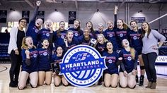 Heartland Conference Volleyball Champions