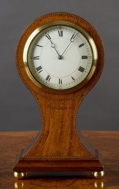 Clocks – Decor : Edwardian Balloon Clock – Olde Time Antique Clocks and Barometers -Read More – Clock Art, Diy Clock, Clock Decor, Clock Ideas, Mantel Clocks, Old Clocks, Antique Clocks, Outside House Decor, Victorian Style Homes