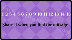 Tricky brain riddle of finding mistake in given picture