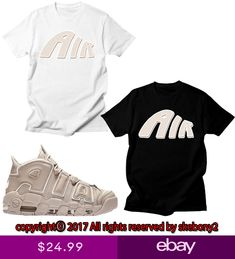 8a5434496818e NEW CUSTOM TEE Nike Air More Uptempo matching T SHIRT UTP 1-10-2