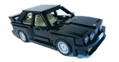 Crafting the classic E30 BMW M3 with Lego blocks