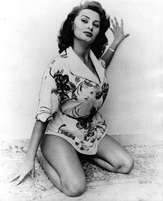 """""""I think the quality of sexiness comes from within. It is something that is in you or it isn't and it really doesn't have much to do with breasts or thighs or the pout of your lips."""" Sophia Loren"""