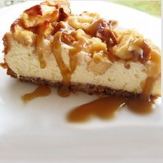 Caramel Apple Pecan Cheesecake Recipe