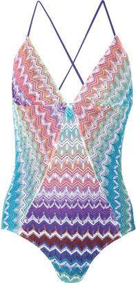 SO PRETTY- HOT ! #Missoni Camaiore crochet-knit swimsuit