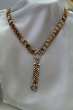 Best 11 Antique Victorian / gold filled GF wide band Mesh book chain detail necklace with drop pendant attached by antiquevintagenstuff on Etsy Victorian Gold, Victorian Jewelry, Lariat Necklace, Necklace Set, Rose Gold Chain, Necklace Tutorial, Stamp, Chain Pendants, Necklace Designs