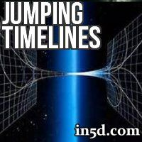 Timeline jumping refers to the shifting of awareness from one series of possibilities to another. If you are in one timeline and you do not like how things are unfolding, then you can move to another timeline in which your dreams are more attainable.