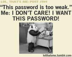 I just started laughing at this thing like a scary walrus.....<--pinning for the comment because panda