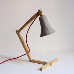 work lamp wood - Google Search