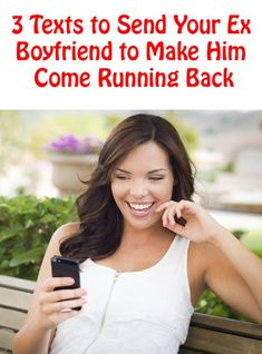 3 Texts To Send Your Ex Boyfriend To Make Him Come Running Back commitmentconnect. Dating Memes, Dating Quotes, Dating Advice, Boyfriend Texts, Boyfriend Humor, Funny Texts To Send, Love Quotes, Funny Quotes, Funny Humor