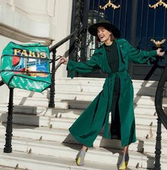 Julia Van Os for Harper's Bazaar Spain February 2018
