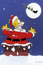 the simpsons christmas - Google Search