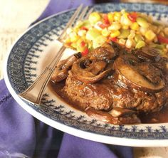 Salisbury Steak from Paula Deen