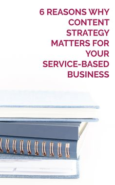 Blue stack of books - 6 Reasons Why Content Strategy Matters for Your Service-based Business Seo Strategy, Content Marketing Strategy, Marketing Plan, Business Marketing, Online Marketing, Marketing Poster, Business Planning, Business Tips, Online Business