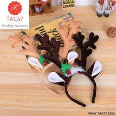 3807122f42b6a Christmas headband Hot Christmas Headband Santa. Reindeer EarsReindeer  HeadbandReindeer AntlersChristmas HairChristmas ...