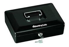 Home Cash Safe Box Cashier Cabinet Drawer Privacy Key Loc...