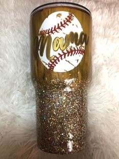 Excited to share this item from my shop: Baseball mama tumbler // baseball mom // hlitter tumbler // wood grain tumbler // // // custom tumbler Mom Tumbler, Tumbler Cups, Tumbler Stuff, Vinyl Tumblers, Custom Tumblers, Glitter Cups, Glitter Tumblers, Gold Glitter, Glitter Glasses