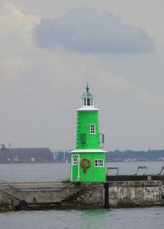 Green-Helsingør Lighthouse, Denmark