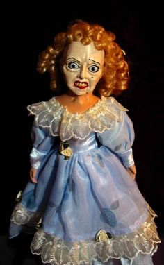 What Ever Happened to Baby Jane? doll.  Sean has a thing about dolls...he thinks even the cute ones are going to eat his soul while he sleeps. This one...wow this one is awesome.