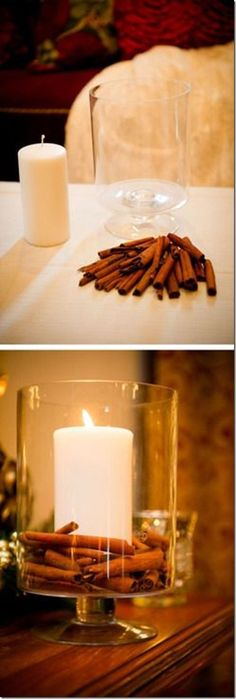 DIY Cinnamon Candle | A Few of My Favorite Things | Gettin' My Healthy On