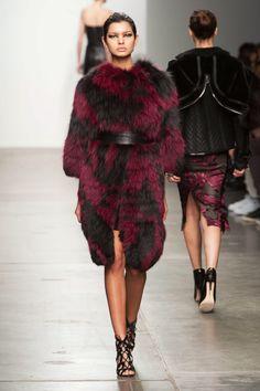 Brandon Sun Fall '15 Collection at New York Fashion Week